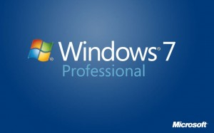 Windows7 Professional Upgrade- Microsoft